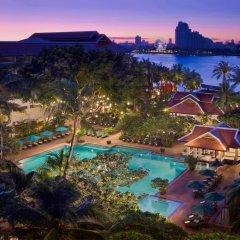 Отель Anantara Riverside Bangkok Resort Таиланд, Бангкок - отзывы, цены и фото номеров - забронировать отель Anantara Riverside Bangkok Resort онлайн бассейн фото 3