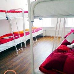 Хостел Online Кровать в общем номере с двухъярусной кроватью фото 29