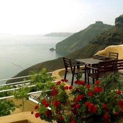 Отель Antithesis Caldera Cliff Santorini балкон