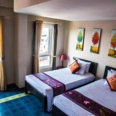 Отель Vietnam Backpacker Hostels - Downtown Номер Делюкс с различными типами кроватей фото 8
