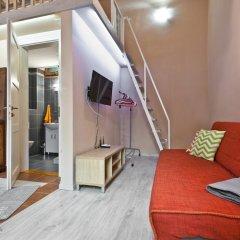 Апартаменты Andrassy Studio Будапешт комната для гостей фото 2