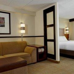 Отель Hyatt Place Ontario / Rancho Cucamonga 3* Стандартный номер с различными типами кроватей фото 2