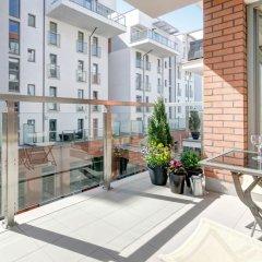 Отель Apartinfo Waterlane Apartments Польша, Гданьск - отзывы, цены и фото номеров - забронировать отель Apartinfo Waterlane Apartments онлайн балкон
