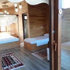 Отель Cirali Flora Pension 3* Стандартный семейный номер с двуспальной кроватью фото 17