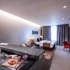 Отель Oakwood Premier Coex Center Студия с различными типами кроватей фото 5