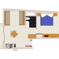 Отель Nautilus Bay 3* Апартаменты с различными типами кроватей фото 4