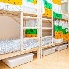 Гостиница Hostels Rus Golovinskiy Кровать в общем номере с двухъярусной кроватью фото 2