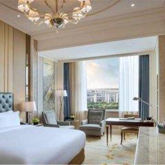 Отель Sofitel Shanghai Hongqiao 5* Улучшенный номер с различными типами кроватей фото 4