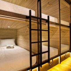 Capsule Pod Boutique Hostel Кровать в общем номере фото 2