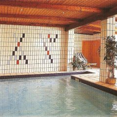 Отель Georgenhöhe Лана бассейн