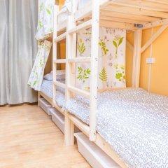 Гостиница Hostels Rus Golovinskiy Кровать в общем номере с двухъярусной кроватью фото 12