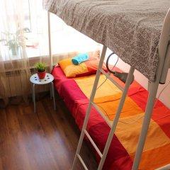 Хостел Online Кровать в общем номере с двухъярусной кроватью фото 33