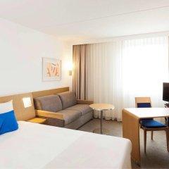Отель Novotel Brussels Airport 3* Улучшенный номер с различными типами кроватей фото 3
