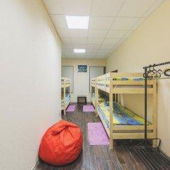 Мини-Отель Компас Кровать в общем номере с двухъярусной кроватью фото 13