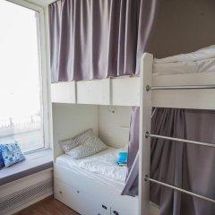 Хостел География Казань Кровать в общем номере двухъярусные кровати фото 16