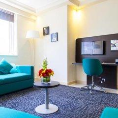 Отель Pearl Park Inn Номер Делюкс с разными типами кроватей фото 3