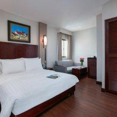 Quoc Hoa Premier Hotel 4* Улучшенный номер разные типы кроватей фото 3