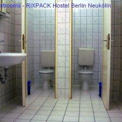 Rixpack Hostel Neukölln Кровать в общем номере с двухъярусной кроватью фото 21