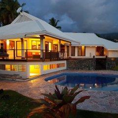Отель Te Tavake by Tahiti Homes Вилла с различными типами кроватей фото 10