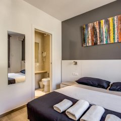 Отель The Bricks Rome Стандартный номер с различными типами кроватей фото 4