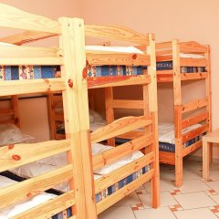 Хостел Х.О. Кровать в общем номере с двухъярусной кроватью фото 17