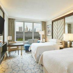 Sheraton Warsaw Hotel 5* Стандартный семейный номер с двуспальной кроватью фото 4