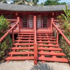 Отель Bom Bom Principe Island 4* Бунгало с различными типами кроватей фото 18