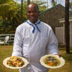 Отель Sugar Reef Bequia Сент-Винсент и Гренадины, Остров Бекия - отзывы, цены и фото номеров - забронировать отель Sugar Reef Bequia онлайн питание фото 3