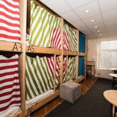 Хостел Архитектор Кровать в общем номере с двухъярусной кроватью фото 23