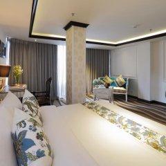 A&Em Corner Sai Gon Hotel 4* Люкс с различными типами кроватей фото 5