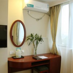 GreenTree Alliance Nantong West Renmin Road Coach Station Hotel 2* Номер Делюкс с различными типами кроватей фото 2