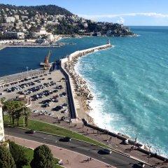 Отель Coco Palais Bellevue Франция, Ницца - отзывы, цены и фото номеров - забронировать отель Coco Palais Bellevue онлайн пляж