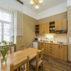 Отель Aparthotel Lublanka 3* Апартаменты с различными типами кроватей фото 8