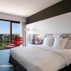 Отель Hilton Madrid Airport 4* Стандартный номер с различными типами кроватей фото 5