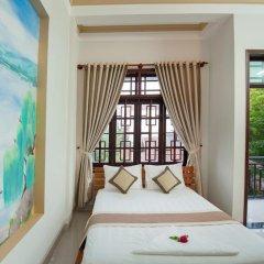 Отель Tra Que Flower Homestay Стандартный номер с двуспальной кроватью фото 22