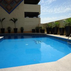 Отель Aranzazu Centro Historico Guadalajara бассейн