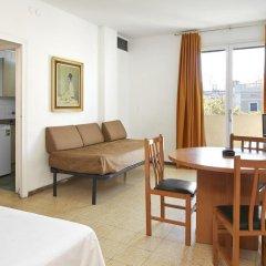 Отель Apartamentos Mur Mar Испания, Барселона - отзывы, цены и фото номеров - забронировать отель Apartamentos Mur Mar онлайн комната для гостей фото 12