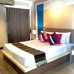 Отель Charoenchit House 2* Стандартный номер с различными типами кроватей