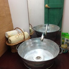Отель Tegheniq Guesthouse Сагмосаван ванная