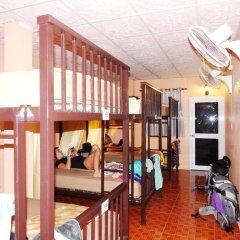 Jinda Hostel Кровать в общем номере с двухъярусной кроватью фото 7