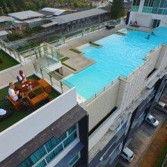 Отель Modern Thai Suites Таиланд, Пхукет - отзывы, цены и фото номеров - забронировать отель Modern Thai Suites онлайн балкон