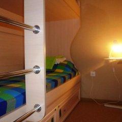 Хостел 8 Этаж Кровать в общем номере двухъярусные кровати