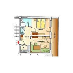 Hotel Garni Fiegl Apart 3* Апартаменты фото 8