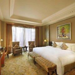 Отель Chateau Star River Guangzhou Peninsula 4* Номер Делюкс с различными типами кроватей