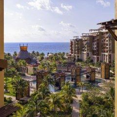 Отель Villa del Palmar Cancun Luxury Beach Resort & Spa Мексика, Плайя-Мухерес - отзывы, цены и фото номеров - забронировать отель Villa del Palmar Cancun Luxury Beach Resort & Spa онлайн балкон