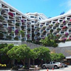 Отель City Beach Resort парковка