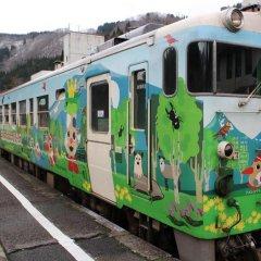 Отель Seiryu No Yado Kawachi Айдзувакамацу городской автобус