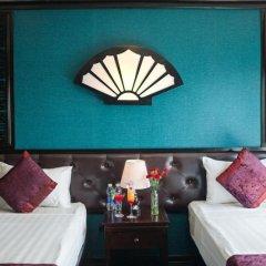 Отель Halong Aclass Legend Cruise 3* Номер Делюкс с различными типами кроватей фото 7