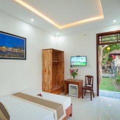 Отель Tra Que Flower Homestay Стандартный номер с двуспальной кроватью фото 18
