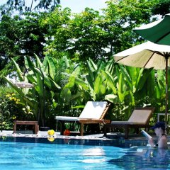 Отель The Corner riverside villa бассейн фото 2